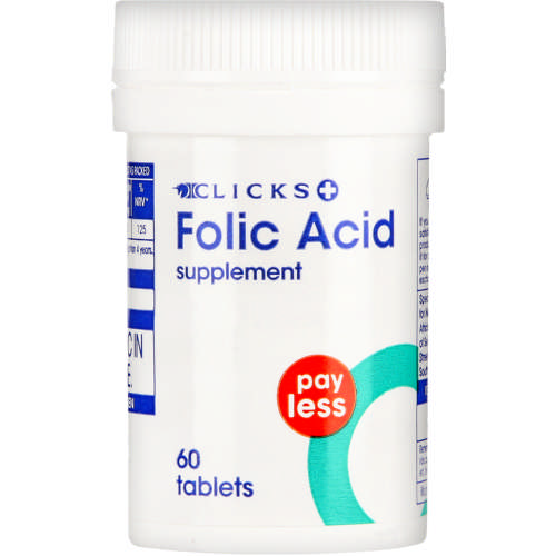 Payless Folic Acid Supplement 60 Tablets