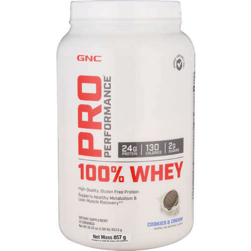 Pro Performance 100% Whey Protein Cookies & Cream