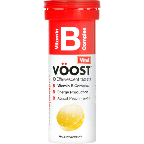 Voost Vitamin B Complex 10 Effervescent Tablets