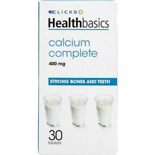 Healthbasics Calcium Complete 30 Tablets
