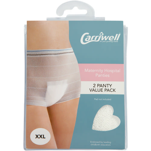 Maternity/Hospital Panties XXL 2 Pack