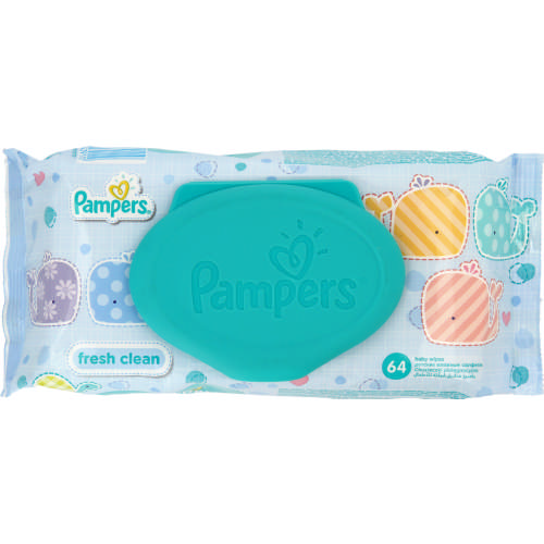 Baby Fresh Clean Wipes 64 Wipes