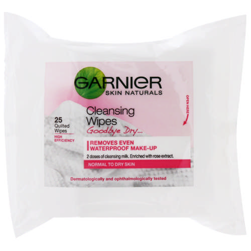 Skin Naturals Cleansing Wipes Goodbye Dry 25 Wipes