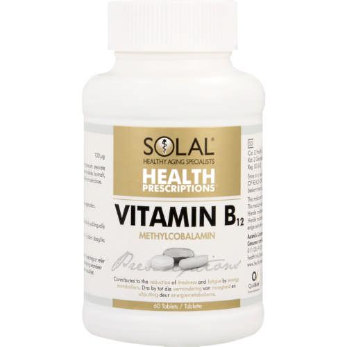 Health Prescriptions Vitamin B12 60 Tablets