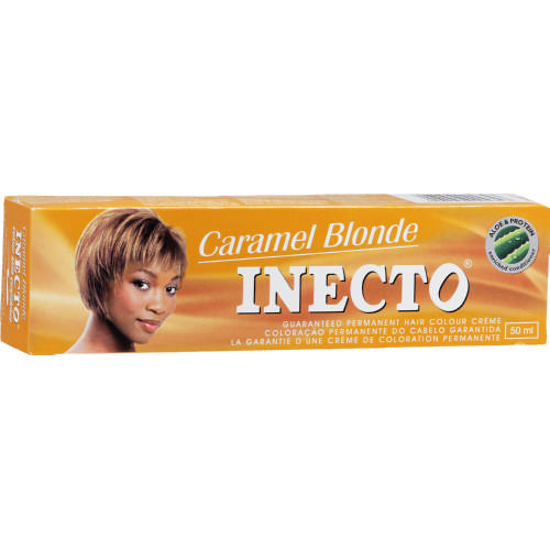 Inecto Permanent Hair Colour Creme Caramel Blonde 50ml Clicks