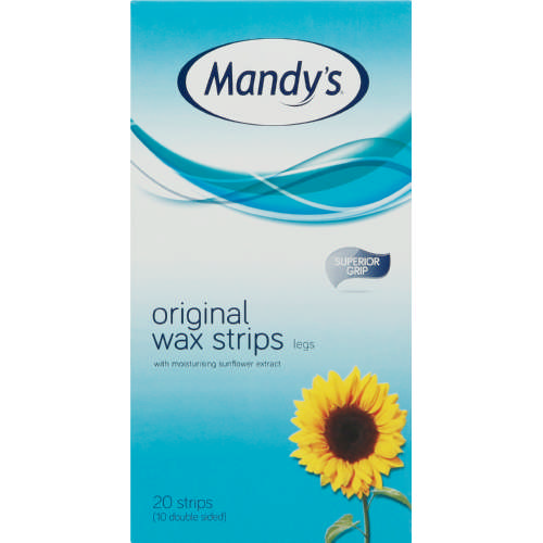 Original Quick & Easy Wax Strips Legs 20 Strips