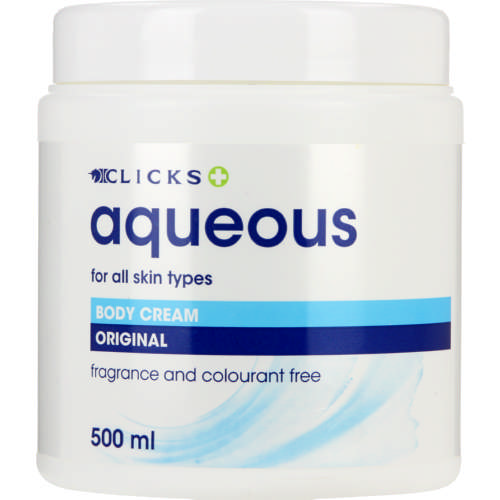 Aqueous Body Cream 500ml