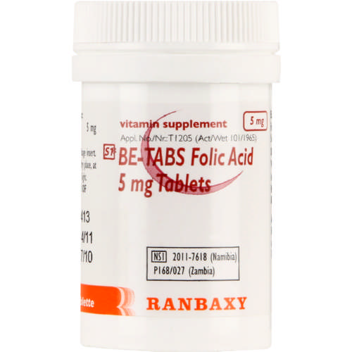 Folic Acid Tablets 100  Tablets