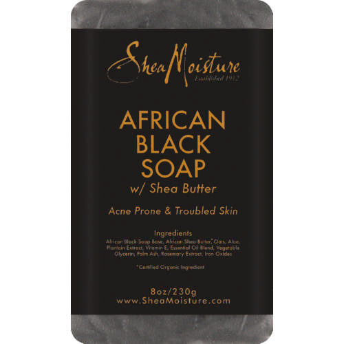 African Black Soap Bar 237g