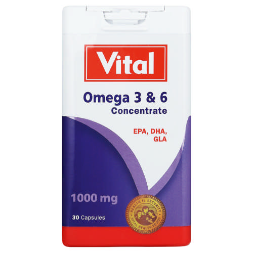 Omega 3 & 6 Concentrate 30 Capsules