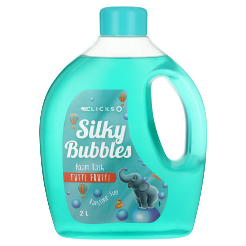 Silky Bubbles Kids Foam Bath Tutti Frutti 2L
