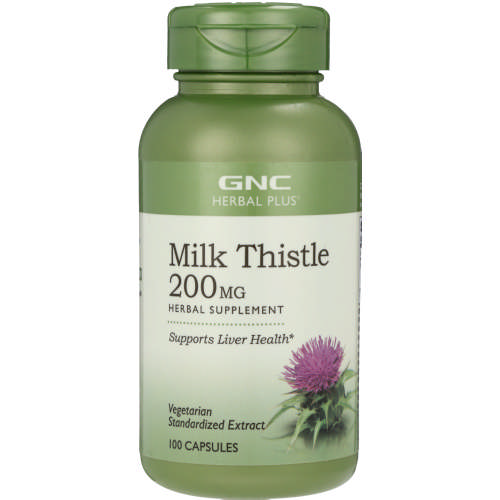 Herbal Plus Milk Thistle 100 Capsules