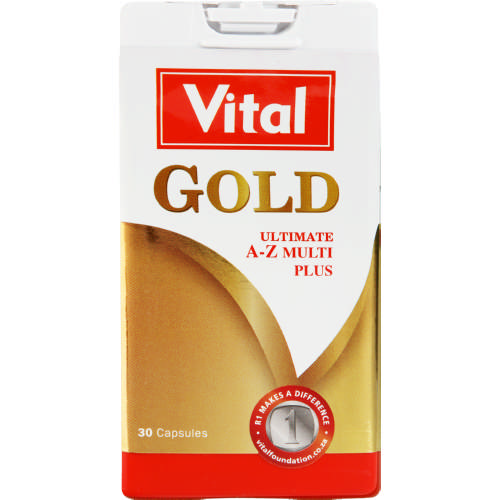 Gold Ultimate A-Z Multi Plus 30 Capsules