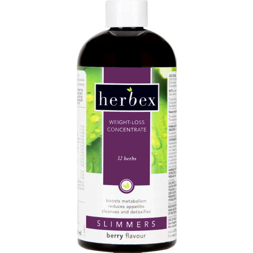 Herbex Slimmers Weight-loss Concentrate Berry 400ml - Clicks