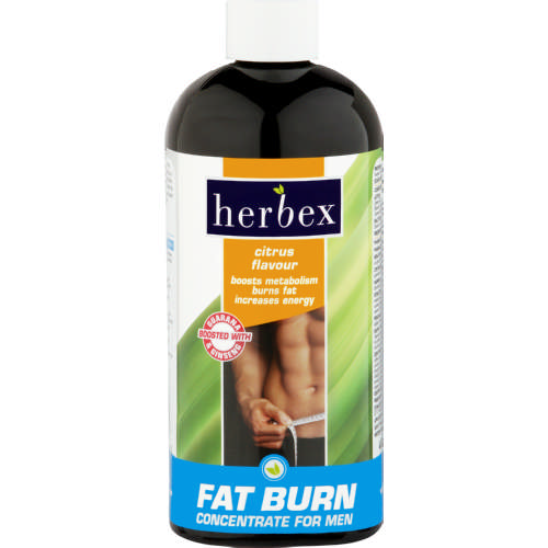 Fat Burn Concentrate For Men Citrus 400ml