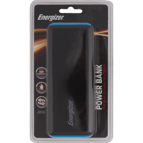 Energizer 10000 mAh Power Bank Black - Clicks 0772f58f0