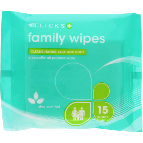 15 Family Wipes