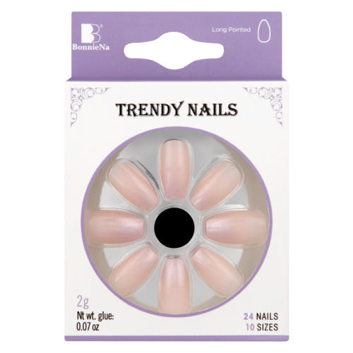 Ombre Artificial Nails Nude