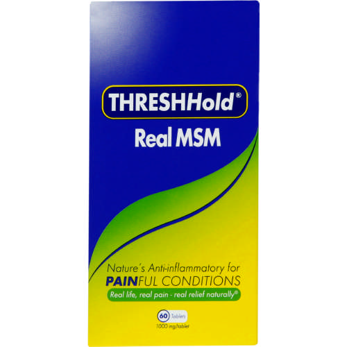 THRESHHold Real MSM 60 Tablets - Clicks