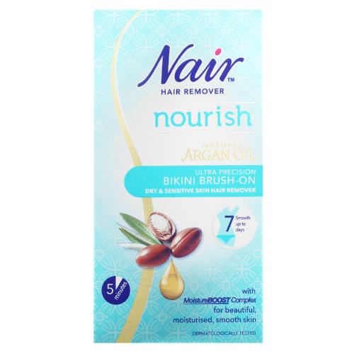 Nair Argan Oil Bikini Brush On Hair Removal Cream Clicks