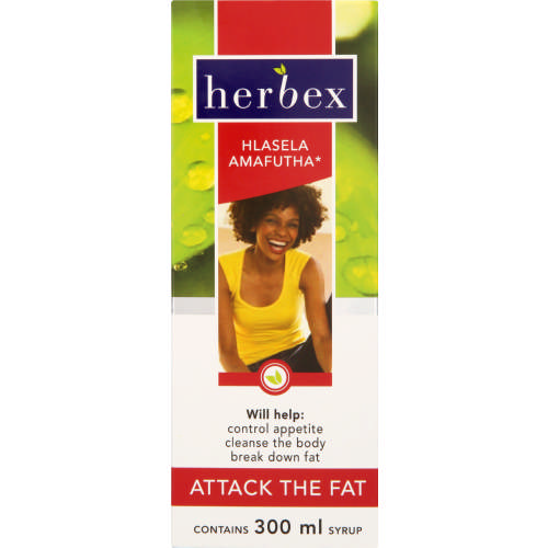 Hlasela Amafutha Attack The Fat Syrup 300ml