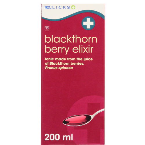 Clicks Blackthorn Berry Elixir 200ml - Clicks