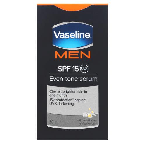 Image result for VaselineMen SPF15 face moisturiser