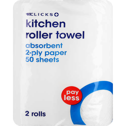 Payless Kitchen Roller Towel 2 Rolls