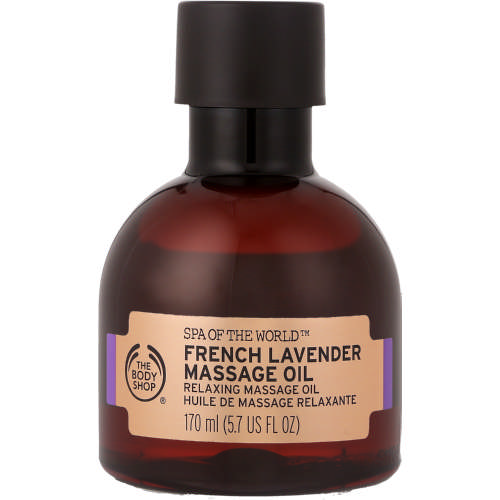 Spa of The World Massage Oil French Lavender 170ml