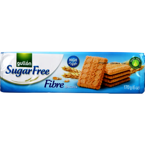 Sugar Free Fibre Biscuits 170g