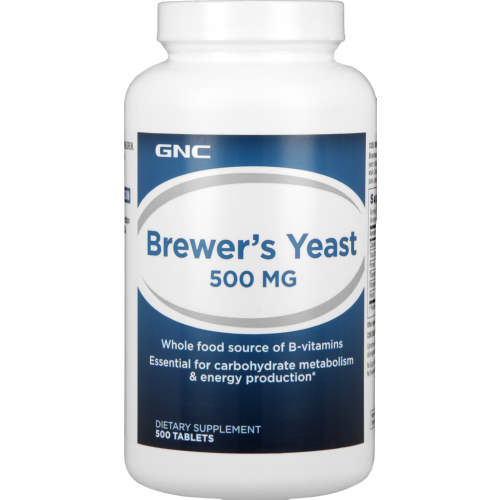 500mg Brewers Yeast Tablets 500 Tablets