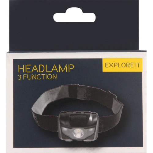 3 Function Headtorch