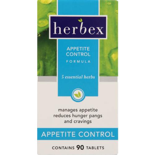 Herbex Weight Loss Formula Appetite Control 90 Tablets Clicks