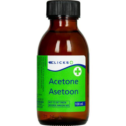 Clicks Acetone 100ml Clicks