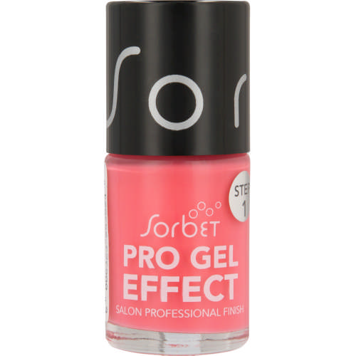 Pro Gel Effect Nail Polish Watermelon Martini 15ml