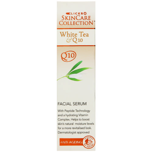 White Tea & Q10 Facial Serum 50ml