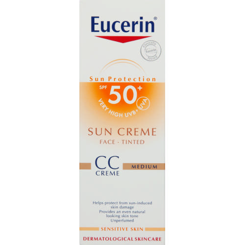 Sun Creme SPF50+ Tinted CC Cream Medium 50ml
