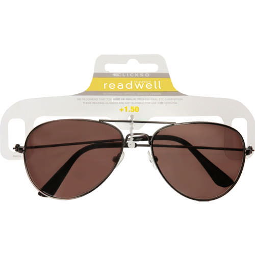 d7bafb799f870 Readwell Premium Sun Reader Aviator 1.5 - Clicks