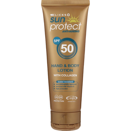 SPF50 Anti-Ageing Hand & Body Lotion 125ml