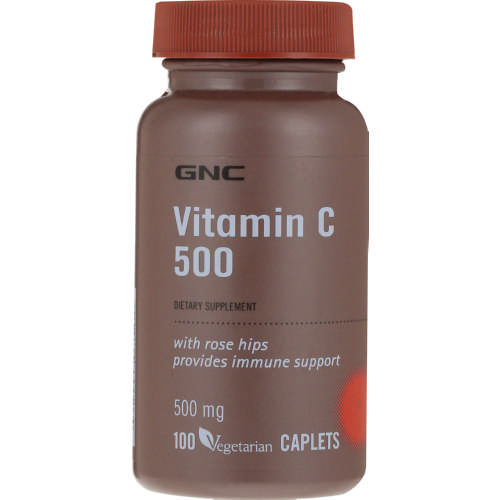 Vitamin C 500mg with Rosehips 100 Capsules