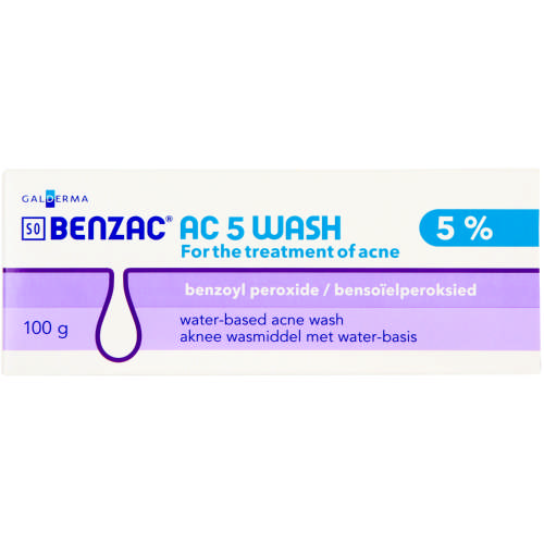 Benzac Ac 5 Wash 100g Clicks