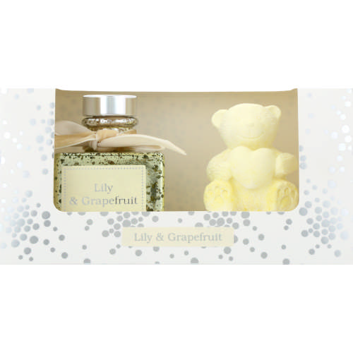 Home Fragrance Box Set Lily & Grapefruit 40ml