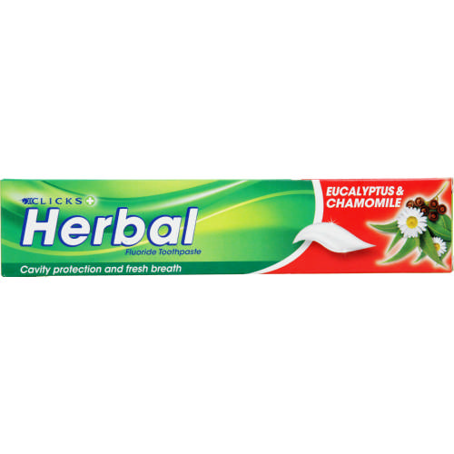 Fluoride Toothpaste Herbal 110g