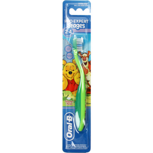 Oral B Stages Pooh 2 - 4 yrs Soft Toothbrush