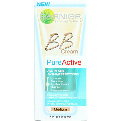 Pure Active BB Cream Medium 50ml