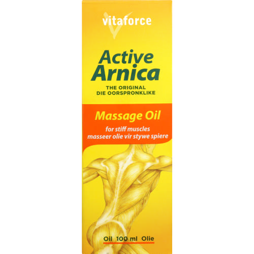 Active Arnica Massage Oil 100ml