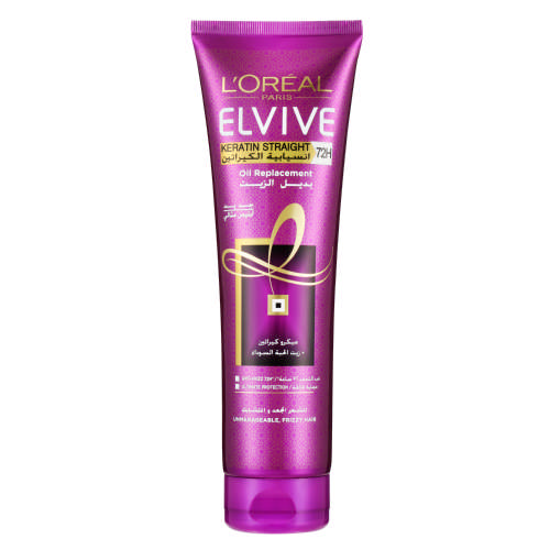 Elvive Keratin Straight Oil Replacement 300ml