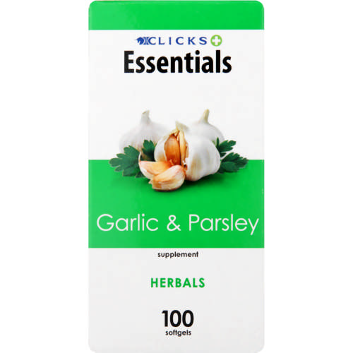 Healthbasics Garlic And Parsley 100 Softgels