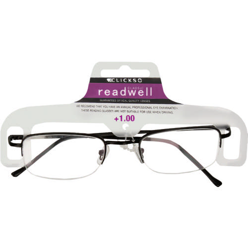 bb181e2714c9d Readwell Classic Reader Black +1.00 - Clicks