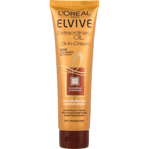 Elvive Extraordinary Oil-in-Cream Leave In Cream Dry Rough Hair 150ml